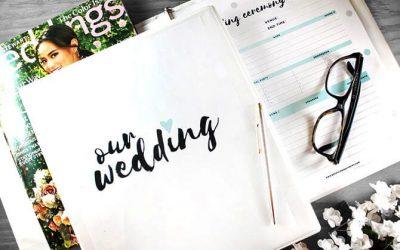 Esküvőtervezés 11+1 pontban és Excel táblában